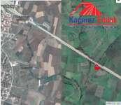 Biga Doğancı Köyünde Çanakkale Asfaltına Cephe Tarla