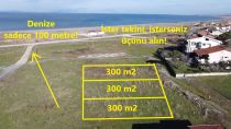 Gönen Denizkentte Denize Sıfır Deniz Manzaralı Arsalar
