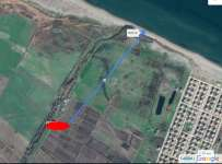 Biga Bozlarda Denize Yakın Satılık İmarlı Arsa