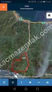 Trabzon Yomrada Satılık 12.478 M2 Arazi 3