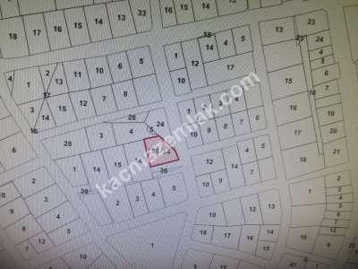 Develi Yeni Mah Köşe Başı Konut Arsası M2 657 4