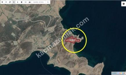 Erdek Balıklı Köyde Satılık Deniz Manzaralı Arsa 2