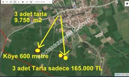 Biga Çeşmealtı Köyünde Köye Çok Yakın Satılık Tarla 1