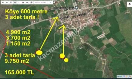 Biga Çeşmealtında Köye Yakın Satılık Tarla 2