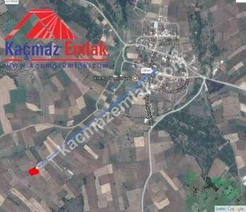 Biga Kayapınar Köyünde Yol Üstü Satılık Tarla, Arazi