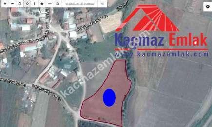 Biga Tokatkırı Köyü Yanında Yola Cepheli Satılık Tarla