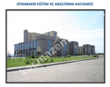 Diyarbakır Araştırma Hastanesine Bitişik Satılık Ticari 1