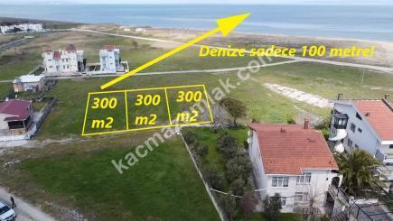 Gönen Denizkentte Satılık Deniz Manzaralı Villa Arsası 13