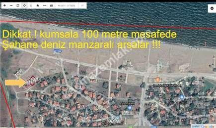 Gönen Denizkentte Satılık Deniz Manzaralı Villa Arsası 3
