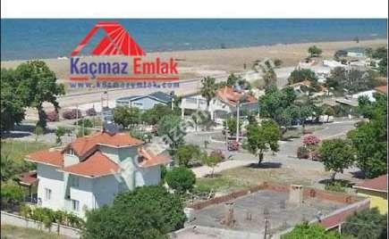 Gönen Denizkent'te Deniz Manzaralı Satılık Villa Arsas 5
