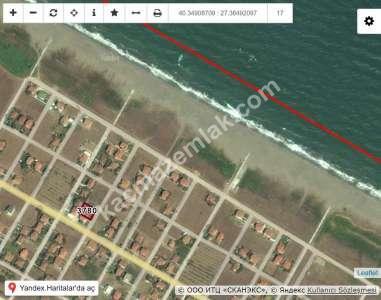 Biga Çeşmealtı Denize Sıfır Deniz Manzara Satılık Arsa 1