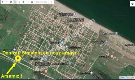 Biga Denizatı Sitesinde Satılık Ucuz Arsa
