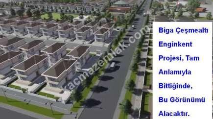 Biga Çeşmealtı Engin Kentte Satılık Villa Arsası 4