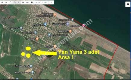 Biga Çeşmealtında Denize 1.400 Mt. Satılık İmarlı Arsa 2