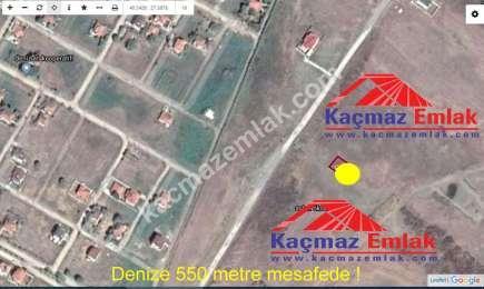 Biga Enginkent'te Denize 550 Metre Satılık Villa Arsas 2