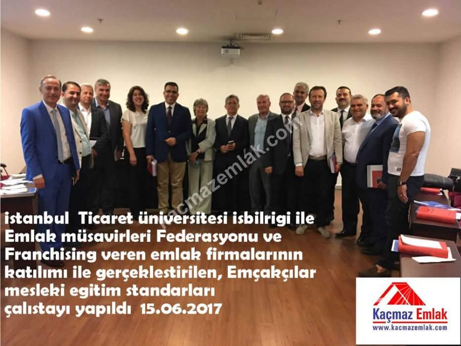 İstanbul Ticaret Üniversitesi Emlak Müşavirleri Federasyonu Çalıştayı