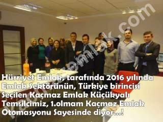 Emlak Sektöründe Türkiye Birincisi, Kaçmaz Emlak Küçükyalı /1