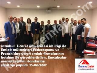 İstanbul Ticaret Üniversitesi Emlak Müşavirleri Federasyonu Çalıştayı /1
