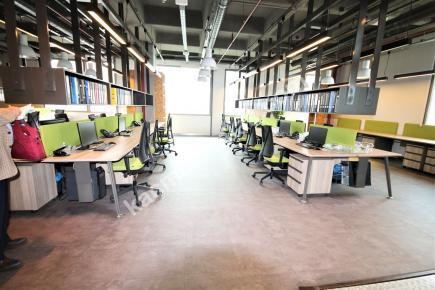 Acele Ve Hızlı Ofispark' Ta Tam Kat Ofis 19