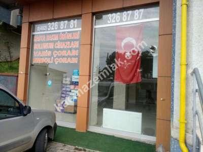 Trabzon Çamlık Mah.de Satılık Dükkan..! 7