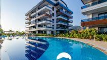 Alanya Oba'Da Site İçerisinde Satılık 2+1 Bahçe Duplex