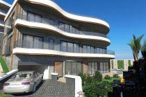 Alanya Tepe Mahallesinde Satılık 5+2 Lüks Villa