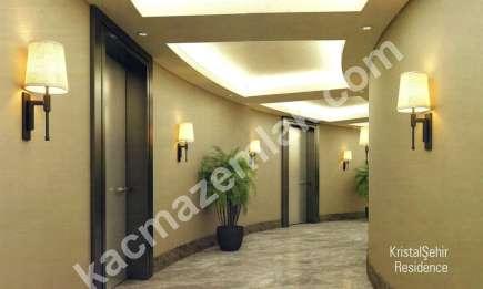 Kristalşehirde Asansörlü, Güvenlikli Satılık 1+1 - 2+1 12